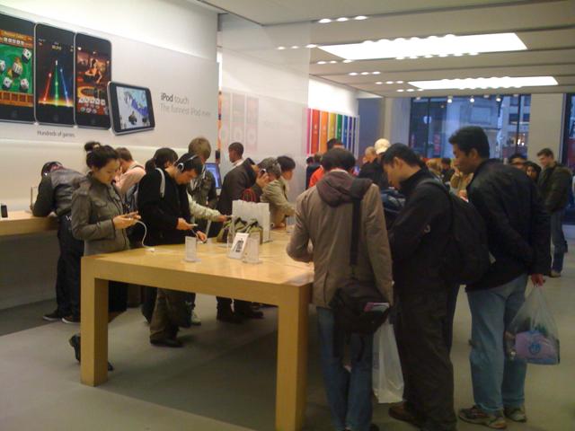 iPod på Apple Store